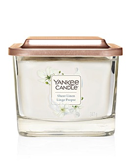 Yankee Elevation Sheer Linen Medium Jar