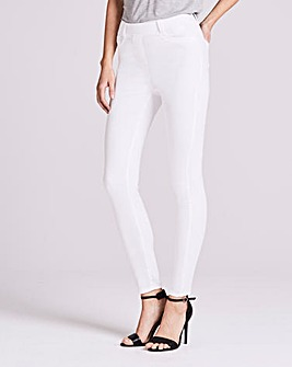 White Amber Skinny Jeggings Regular