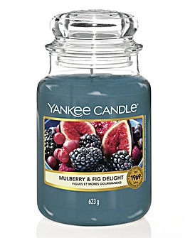 Yankee Candle Mulberry and Fig Large Jar