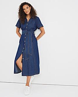 Joe Browns Denim Midi Dress