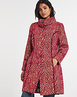 Joe Browns Jaquard Zebra Coat