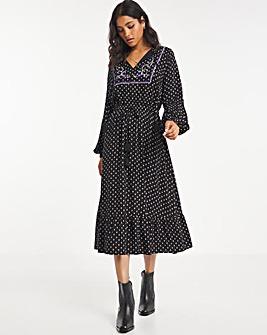 Joe Browns Embroidered Midi Dress