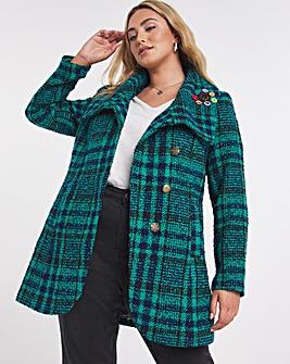 Joe Browns Tweed Check Coat