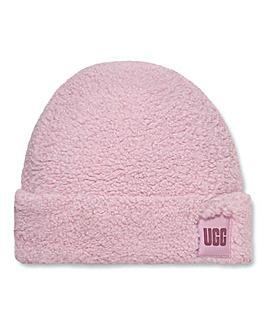 Ugg Sherpa Logo Hat
