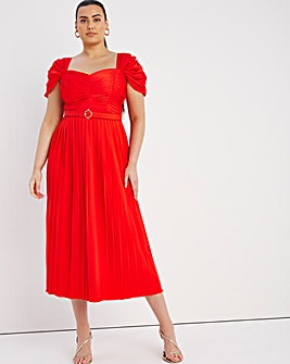 Little Mistress Sweetheart Midi Dress
