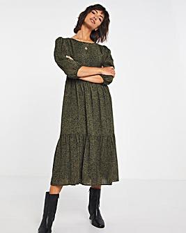 Selected Femme Printed Smock Dress