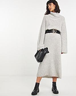Selected Femme Roll Neck Jumper Dress