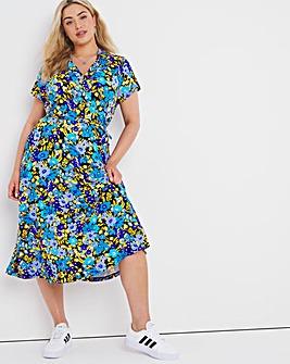 Joe Brown Printed Tea Dress