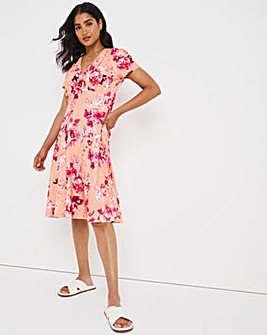 Joe Browns Printed Wrap Dress