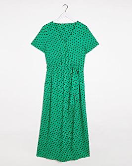 Joe Browns Spot Maxi Dress