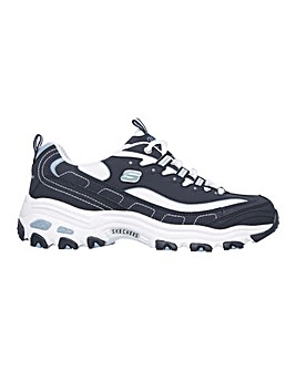 Skechers D'Lites Biggest Fan Trainers Extra Wide Fit