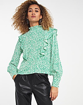 Y.A.S Frill Detail Blouse