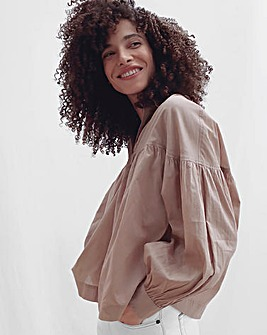 French Connection Dana Smock Top