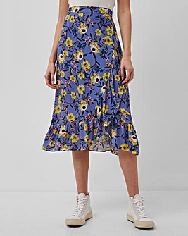French Connection Eloise Ruffle Skirt