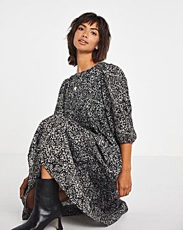 Selected Femme Midi Smock Dress