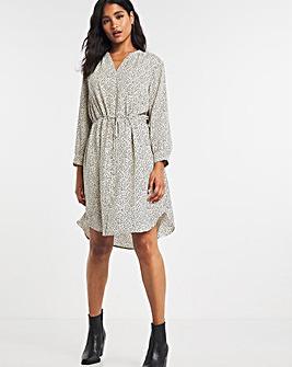 Selected Femme Drawstring Waist Dress