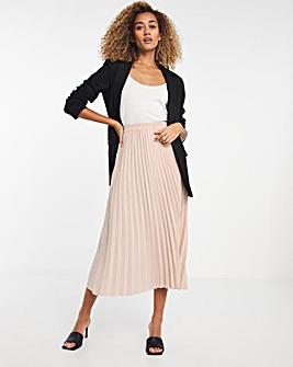 Selected Femme Pleated Midi Skirt