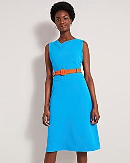 Damsel in a Dress Timone belted Midi Dress