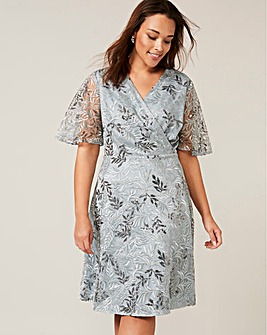 Studio Eight Trudy Embroidered Dress