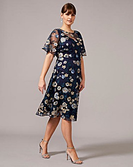 Studio 8 Steff Floral Embroidered Dress