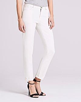 Ecru Sadie Relaxed Slim Leg Jeans Reg
