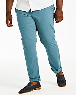 Blue Stretch Chinos 29in