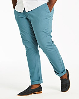 Blue Stretch Chinos 31in