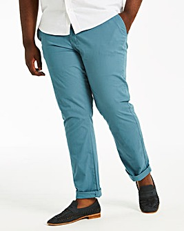 Blue Stretch Chinos 33in