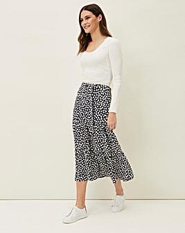 Phase Eight Tana Leaf Maxi Skirt