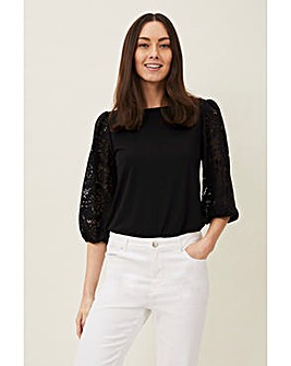 Phase Eight Lanna Lace Blouse