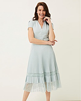 Phase Eight Hannah Pleat Dress