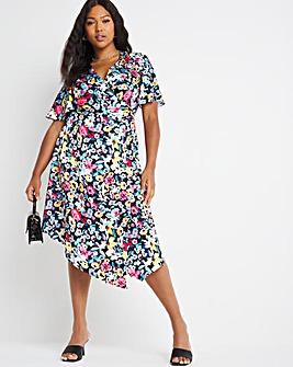Chi Chi Floral Wrap Dress