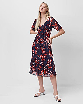 French Connection Elvia Crinkle Dress