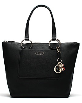 GUESS Sally Pebbled Tote Bag
