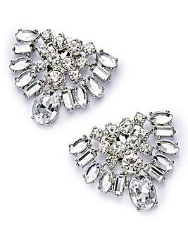 Diamante Shoe Clips