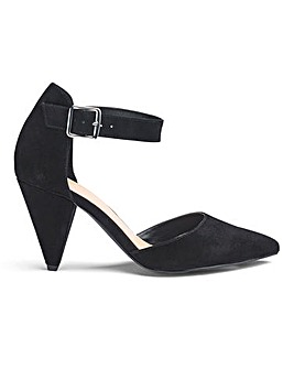 Alexis Cone Heels Extra Wide Fit