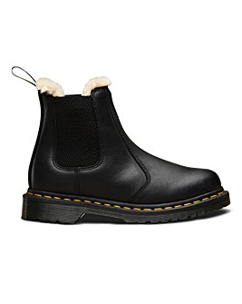 Dr Martens Fur Lined Chelsea Boot