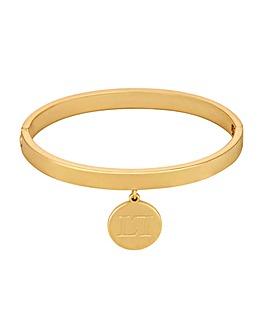 Lipsy Gold Coin Charm Bangle