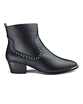 Mhairi Western Boot Wide Fit