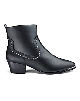 Mhairi Western Boot Extra Wide Fit