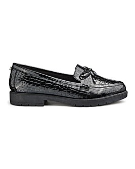 Head Over Heels by Dune Gemmy Loafer