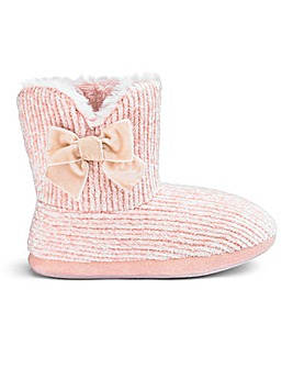 Chenile Bootie Wide Fit