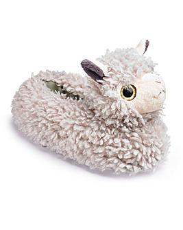 Llama Novelty Slipper