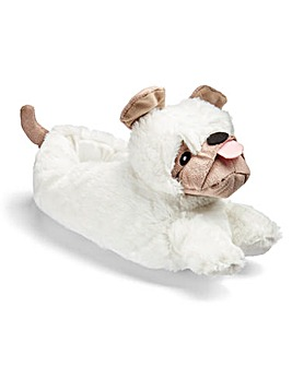 Pug Novelty Slipper