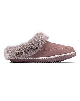 Clarks Home Soft Slippers D Fit