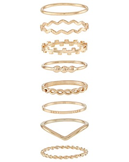 Accessorize 8 X Simple Stack Set