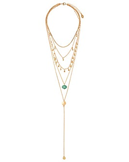 Accessorize Sienna Layered Pendant
