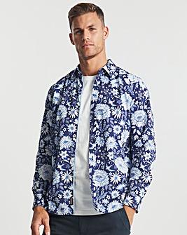 Joe Browns Navy Floral Shirt