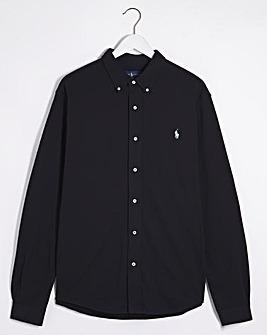 Polo Ralph Lauren Black Longsleeve Jersey Shirt