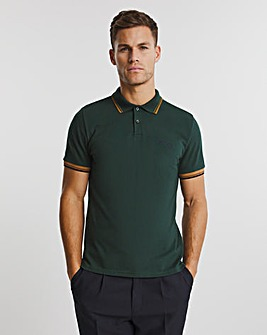 Ben Sherman Dark Green Short Sleeve Signature Tipped Polo